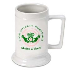 Buy Claddagh Beer Stein - Free Personalization