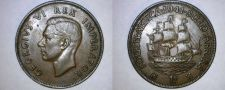 Buy 1941 South African Penny World Coin - South Africa