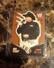 Buy Jim Ross GOOD OL' J.R. #82 Royal Rumble 2002 FLEER Wrestling Trade Cards WWE WWF