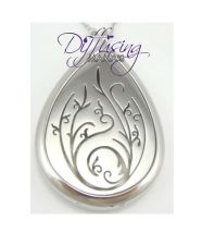 Buy Flower Drop Diffusing Mama's Brand Essential Oils Aromatherapy Locket Necklace