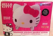 Buy Hello Kitty Bluetooth Wireless Speaker System - New! Works W/ Apple & Samsung