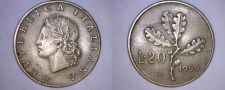 Buy 1959-R Italian 20 Lire World Coin - Italy