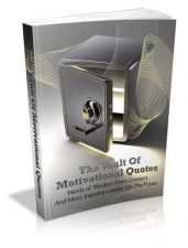 Buy The Vault Of Motivational Quotes Ebook + 10 Free eBooks With Resell rights PDF