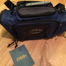 Buy Lot of 2 - CABELA'S Utility Bag - Blue - FAST FREE SHIPPING