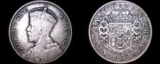 Buy 1933 New Zealand 1/2 Crown World Silver Coin