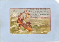 Buy New York Amsterdam Victorian Trade Card John T. Pierson, Kline Row, Market~63
