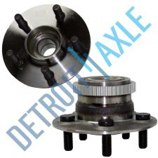 Buy 2 - NEW Rear Driver and Passenger Wheel Hub and Bearing w/ ABS and Rear Disc