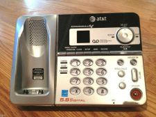 Buy AT&T E5921 MAIN CHARGER BASE w/AC CORD - digital answering machine system 5.8GHz