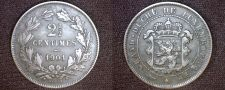 Buy 1901 Luxembourg 2.5 Centimes World Coin - BAPTH