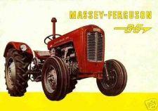 Buy MASSEY FERGUSON MF 35 TRACTOR SERVICE & WORKSHOP MANUAL 380pg w/ Overhaul Repair