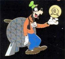 Buy Disney Goofy as a puppet rare Event pin/pins