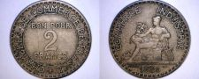 Buy 1922 French 2 Franc World Coin - France