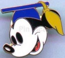 Buy Disney Institute - Mickey Graduate Head (Blue) pin/pins