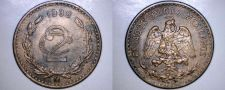 Buy 1939 Mexican 2 Centavo World Coin - Mexico