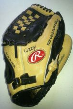 "Buy Rawlings BASEBALL Left Hand GLOVE Tan-Black Leather SPECIAL ED RTD203-12.5"" Exc"