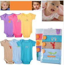 Buy Boy/Girl Baby Romper Set - 5 pieces/set [03017]