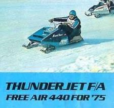 Buy SNOJET THUNDERJET SERVICE & PARTS MANUALs for 1974 1975 Sno Jet Snowmobiles