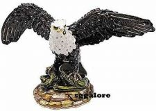 Buy Large Limited RUCINNI Swarovski Crystals BeJeweled EAGLE Trinket BOX BIRDS