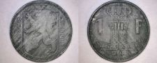 Buy 1945 Belgian 1 Franc World Coin - Belgium - WWII Era