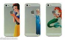 Buy Frozen Elsa Olaf Snow White Ariel Mermaid Disney Case For iPhone 4 4S 5 5S 5C