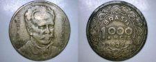 Buy 1939 Brazilian 1000 Reis World Coin - Brazil