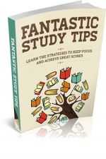 Buy Fantastic Study Tips + 10 Free eBooks With Resell rights ( PDF )