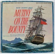 Buy MUTINY ON THE BOUNTY *** Movie Soundtrack LP 1962 Boxed Deluxe Ed. w/Book