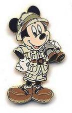 Buy Disney Mickey Mouse Safari Mickey with Binoculars pin/pins