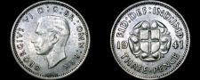 Buy 1941 Great Britain 3 Pence World Silver Coin - UK