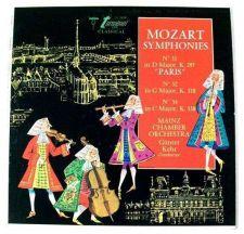 """Buy MOZART SYMPHONIES ~ No. 31 """"Paris"""" / No. 32 in G Major / No. 34 in C Major LP"""