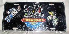 Buy Walt Disney World WDW Pluto Mickey Tomorrowland License Plate