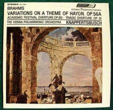 Buy BRAHMS: Variations On A Theme Of Haydn, Op. 56A / Classical LP