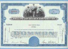 Buy New York na Stock Certificate Company: Phillips-Van Heusen Corporation ~59