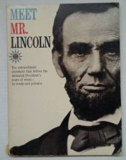 "Buy VINTAGE Collectable Book ""Meet Mr. Lincoln"" 1960 Documentary Storys/Pics"