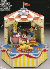 Buy Goofy Mickey Minnie Mickey Three Ring Circus Disney Music Box Schmid Rare