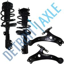 Buy NEW 4 pc Set - 2 Front Lower Control Arm Assembly + 2 Ready Strut