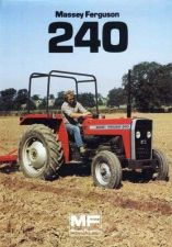 Buy MASSEY FERGUSON MF 240 PARTS MANUAL 130pgs for MF240 Tractor Repair & Service