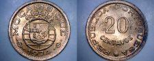 Buy 1974 Mozambique 20 Centavo World Coin - Portuguese Colonial