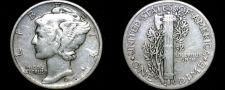 Buy 1945-P Mercury Dime Silver