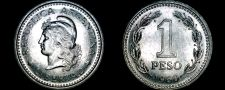 Buy 1960 Argentina 1 Peso World Coin