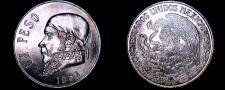 Buy 1981 Open 8 Mexican 1 Peso World Coin - Mexico