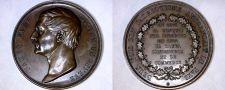 Buy c.1855 Medal Geneva Switzerland James Fazy
