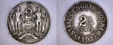 Buy 1903-H British North Borneo 2 1/2 Cent World Coin - Malaysia