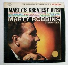 Buy MARTY ROBBINS ~ Marty's Greatest Hits 1980 Country LP