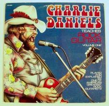 Buy CHARLIE DANIELS Teaches ROCK GUITAR / Volume One 1977 Instructional LP