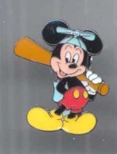 Buy Disney Mickey Mouse Baseball German Pro Pin/Pins