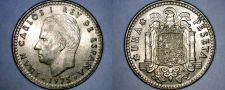 Buy 1975 (80) Spanish 1 Peseta World Coin - Spain