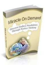 Buy Miracle On Demand Ebook + 10 Free eBooks With Resell rights ( PDF )