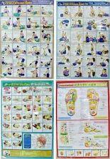 Buy THAI MASSAGE INSTRUCTIONAL SET 1,2,3 + 1 FOOT CHART SEALED PLASTIC X 4 SHEETS
