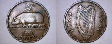 Buy 1946 Irish 1/2 Half Penny World Coin - Ireland